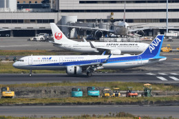 kuro2059さんが、羽田空港で撮影した全日空 A321-272Nの航空フォト(飛行機 写真・画像)