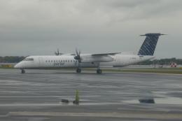 TUILANYAKSUさんが、ビリー・ビショップ・トロント・シティー空港で撮影したポーター・エアラインズ DHC-8-402Q Dash 8の航空フォト(飛行機 写真・画像)