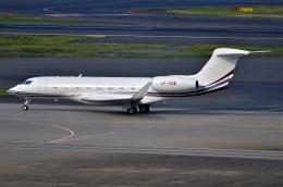 amagoさんが、羽田空港で撮影したカタール・エグゼクティブ G650 (G-VI)の航空フォト(飛行機 写真・画像)