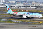 kuro2059さんが、羽田空港で撮影した大韓航空 777-2B5/ERの航空フォト(飛行機 写真・画像)