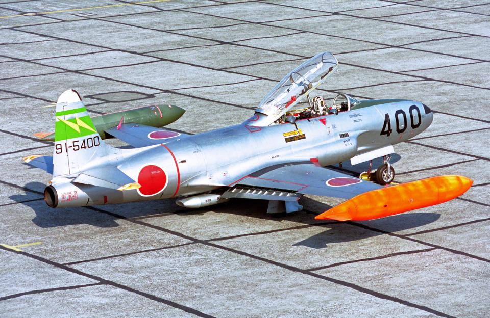 A-330さんの航空自衛隊 Kawasaki T-33 (91-5400) 航空フォト