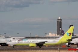 湖景さんが、成田国際空港で撮影したジンエアー 737-86Nの航空フォト(飛行機 写真・画像)
