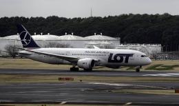 planetさんが、成田国際空港で撮影したLOTポーランド航空 787-8 Dreamlinerの航空フォト(飛行機 写真・画像)