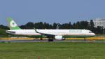 パンダさんが、成田国際空港で撮影したエバー航空 A321-211の航空フォト(飛行機 写真・画像)