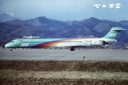 tassさんが、仙台空港で撮影した日本エアシステム MD-90-30の航空フォト(飛行機 写真・画像)