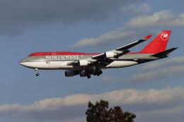 航空フォト:N668US ノースウエスト航空 747-400