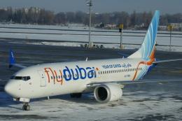 TUILANYAKSUさんが、ボルィースピリ国際空港で撮影したフライドバイ 737-8-MAXの航空フォト(飛行機 写真・画像)