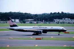 MOHICANさんが、成田国際空港で撮影したノースアメリカン航空 757-28Aの航空フォト(飛行機 写真・画像)