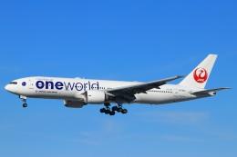 ぽっぽさんが、伊丹空港で撮影した日本航空 777-246/ERの航空フォト(飛行機 写真・画像)