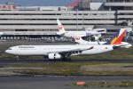 kuro2059さんが、羽田空港で撮影したフィリピン航空 A330-343Xの航空フォト(飛行機 写真・画像)