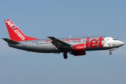 Hariboさんが、アムステルダム・スキポール国際空港で撮影したジェット・ツー 737-377の航空フォト(飛行機 写真・画像)