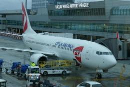 TUILANYAKSUさんが、ヴァーツラフ・ハヴェル・プラハ国際空港で撮影したチェコ航空 737-86Nの航空フォト(飛行機 写真・画像)