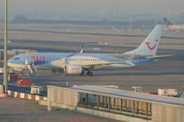 TUILANYAKSUさんが、ブリュッセル国際空港で撮影したトゥイ・エアラインズ・ベルギー 737-8-MAXの航空フォト(飛行機 写真・画像)
