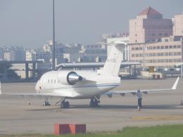 JA8037さんが、廈門高崎国際空港で撮影したジェット・アビエーション・ビジネス・ジェット CL-600-2B16 Challenger 604の航空フォト(飛行機 写真・画像)