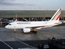 PW4090さんが、パリ シャルル・ド・ゴール国際空港で撮影したエールフランス航空 A318-111の航空フォト(飛行機 写真・画像)