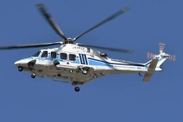 ブルーさんさんが、名古屋飛行場で撮影した海上保安庁 AW139の航空フォト(飛行機 写真・画像)