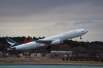MA~RUさんが、成田国際空港で撮影したキャセイパシフィック航空 A330-343Xの航空フォト(飛行機 写真・画像)
