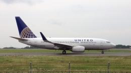 TKGさんが、岡山空港で撮影したユナイテッド航空 737-724の航空フォト(飛行機 写真・画像)