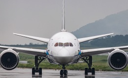 TKGさんが、岡山空港で撮影した全日空 787-8 Dreamlinerの航空フォト(飛行機 写真・画像)