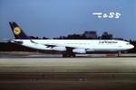 tassさんが、成田国際空港で撮影したルフトハンザドイツ航空 A340-211の航空フォト(飛行機 写真・画像)