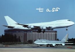 tassさんが、成田国際空港で撮影したUPS航空 747SR-46(SF)の航空フォト(飛行機 写真・画像)