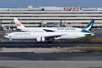 kuro2059さんが、羽田空港で撮影したキャセイパシフィック航空 777-367/ERの航空フォト(飛行機 写真・画像)