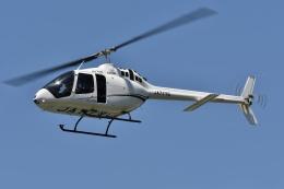 ブルーさんさんが、静岡ヘリポートで撮影した雄飛航空 505 Jet Ranger Xの航空フォト(飛行機 写真・画像)
