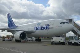 TUILANYAKSUさんが、パリ シャルル・ド・ゴール国際空港で撮影したエア・トランザット A310-304の航空フォト(飛行機 写真・画像)