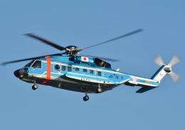 ブルーさんさんが、東京ヘリポートで撮影した警視庁 S-92Aの航空フォト(飛行機 写真・画像)