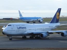 hanatomo735さんが、関西国際空港で撮影したルフトハンザドイツ航空 747-430の航空フォト(飛行機 写真・画像)