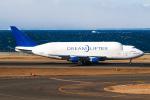 契丹さんが、中部国際空港で撮影したボーイング 747-4H6(LCF) Dreamlifterの航空フォト(飛行機 写真・画像)