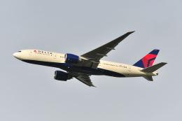 ポン太さんが、成田国際空港で撮影したデルタ航空 777-232/LRの航空フォト(飛行機 写真・画像)