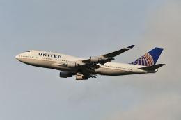 ポン太さんが、成田国際空港で撮影したユナイテッド航空 747-422の航空フォト(飛行機 写真・画像)