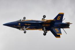 キャスバルさんが、ミラマー海兵隊航空ステーション で撮影したアメリカ海軍 F/A-18C Hornetの航空フォト(飛行機 写真・画像)