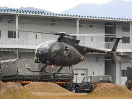hanatomo735さんが、海田市駐屯地で撮影した陸上自衛隊 OH-6Dの航空フォト(飛行機 写真・画像)