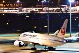 Hiro Satoさんが、羽田空港で撮影した日本航空 787-8 Dreamlinerの航空フォト(飛行機 写真・画像)