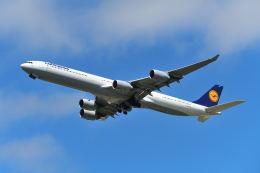 航空フォト:D-AIHM ルフトハンザドイツ航空 A340-600
