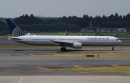 ☆ゆっきー☆さんが、成田国際空港で撮影したコンチネンタル航空 767-424/ERの航空フォト(飛行機 写真・画像)