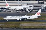 kuro2059さんが、羽田空港で撮影した日本航空 737-846の航空フォト(飛行機 写真・画像)