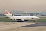 鈴鹿@風さんが、名古屋飛行場で撮影した日本航空 DC-10-40Dの航空フォト(飛行機 写真・画像)
