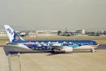 鈴鹿@風さんが、名古屋飛行場で撮影した全日空 767-381の航空フォト(飛行機 写真・画像)