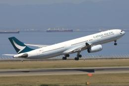 わんだーさんが、中部国際空港で撮影したキャセイパシフィック航空 A330-343Xの航空フォト(飛行機 写真・画像)