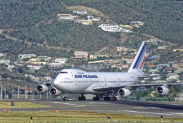 Airliners Freakさんが、プリンセス・ジュリアナ国際空港で撮影したエールフランス航空 747-228Bの航空フォト(飛行機 写真・画像)