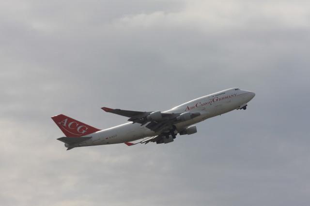 ゆう.さんが、成田国際空港で撮影したエア・カーゴ・ジャーマニー 747-409(BDSF)の航空フォト(飛行機 写真・画像)