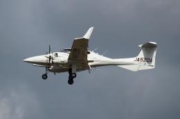 kunimi5007さんが、仙台空港で撮影したアルファーアビエィション DA42 TwinStarの航空フォト(飛行機 写真・画像)