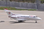 kumagorouさんが、仙台空港で撮影したAirMed international BAe-125-800Aの航空フォト(飛行機 写真・画像)