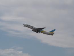 ここはどこ?さんが、新千歳空港で撮影したAIR DO 767-381/ERの航空フォト(飛行機 写真・画像)