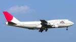 SGR RT 改さんが、成田国際空港で撮影した日本航空 747-346の航空フォト(飛行機 写真・画像)