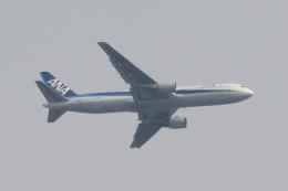 BOEING737MAX-8さんが、自宅より撮影で撮影した全日空 767-381/ERの航空フォト(飛行機 写真・画像)