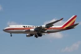 KANTO61さんが、横田基地で撮影したカリッタ エア 747-4B5(BCF)の航空フォト(飛行機 写真・画像)